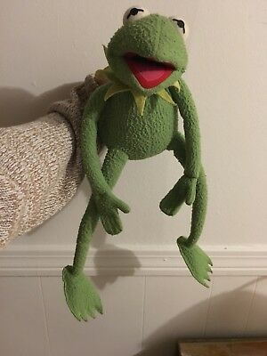 RARE KERMIT The Frog MUSICAL Wind Up Rainbow Connection EDEN TOYS RARE
