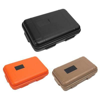Small Box Survival Tool Case Storage Container for Outdoor Shockproof Water #F8s