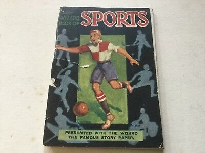 The Wizard Book Of Sports - Mini Book Presented With The Wizard Paper