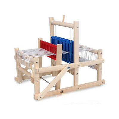 Wooden traditional weaving loom educational craft Baby art toys high quality