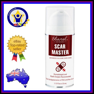 EBANEL SCAR MASTER Removal Cream Gel Treatment Skin Care Fade Old New Scars Acne