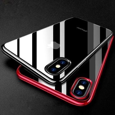 For Apple iPhone XS XR XS MAX Luxury Ultra Slim Shockproof Bumper Case Cover /gg