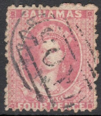 Bahamas SG18 1862 4d used Cat £375