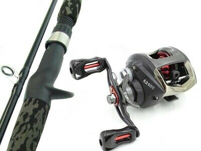 SARATOGA BARRA 6'0 12kg Baitcaster Fishing Rod and Reel Combo Baitcast