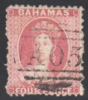Bahamas SG14 1862 4d used Cat £2000