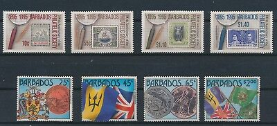LI98861 Barbados nice lot of good stamps MNH