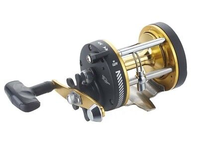 SARATOGA STH 300 Gold Overhead Game Trolling Boat Fishing Reel Snapper Presale