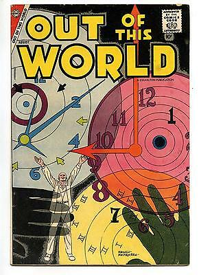 Out of this World #9 - Steve Ditko - Charlton Comics - SILVER AGE 1958 - VG/FN