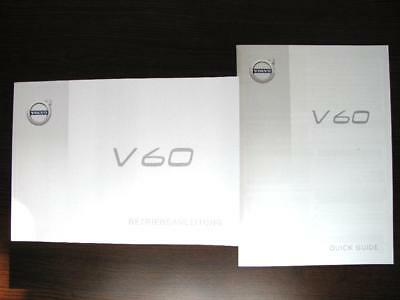 Original Volvo V60 Betriebsanleitung & Quick Guide deutsch Mj.2018 TP24481+24323