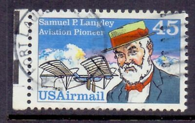 United States  1988  Airmail, S.P. Langley, used.