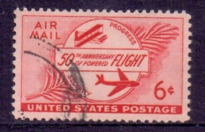 United States  1953  Airmail, used.