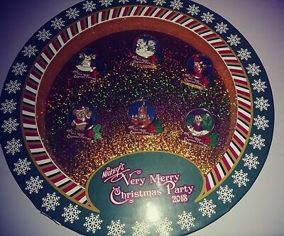 Limited Edition 2013 Mickeys Very Merry Christmas Party Pin Set Only Displayed