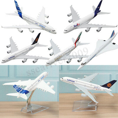 16cm Airplane Model Toy Kid Aircraft 16cm Plane Model Desk Toy Multiple choices