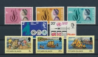 LI99320 Pitcairn Island nice lot of good stamps MNH