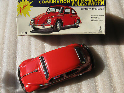 TAIYO VW COMBINATION BEETLE Käfer /BUMP 'N GO ORIGINAL BOXFULLY WORKING