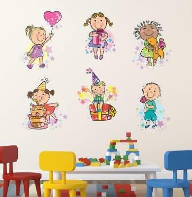 Playing Kids Wall Sticker Home Art Decor Decal Mural Wall Stickers Kids Room