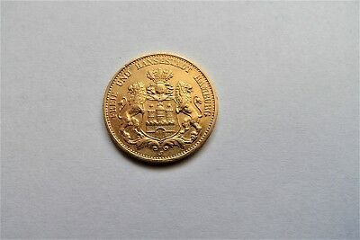 Hansestadt Hamburg 20 Mark Gold 1899 J Goldmünze - Kaiserreich