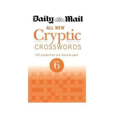 Daily Mail All New Cryptic Crosswords 6 by Daily Mail (author)