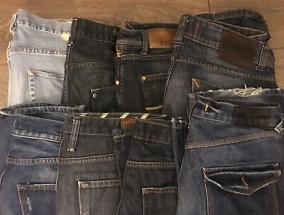 """Men's Trousers Jeans 8 pairs 34"""" and 36"""""""