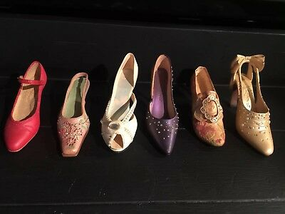 Just The Right Shoe Lot Of 6 2000 To 2003 Collectibles
