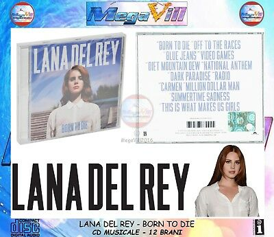 LANA DEL REY BORN TO DIE 2012 Pop Interscope Records CD MUSICALE SIGILLATO NEW