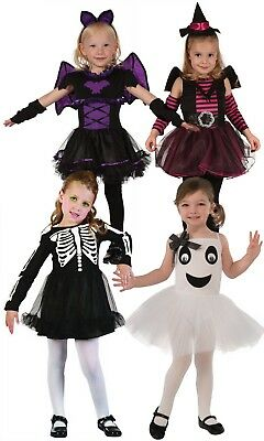 Girls Kids Childs Toddler Halloween Fancy Dress Costume Outfit Age 2-3