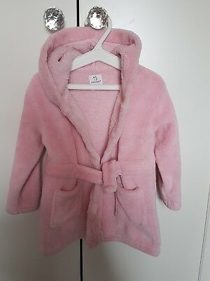 baby girl dressing gown 6-12months