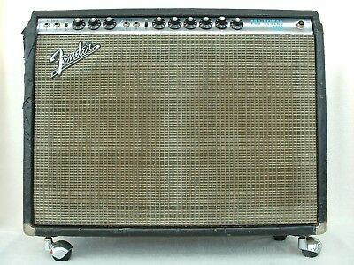 FENDER PRO REVERB - AMP ViNTAGE USA 1971 SiLVERFACE GUiTAR TUBE COMBO ALL TUBE
