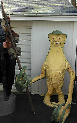 STAR WARS LIFESIZE AMANAMAN STATUE 1:1 Scale One of a Kind!!! Episode VI