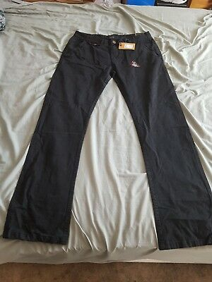 Black Chino Jeans Brand New With Tags 36w 34l