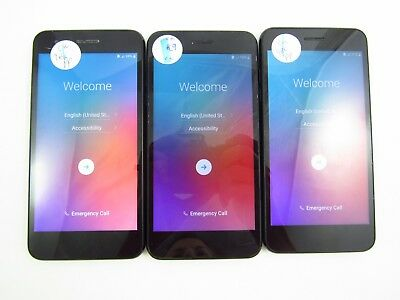Lot of 3 Google Locked LG Fortune 2 X210CM Cricket Check IMEI GL 3-575