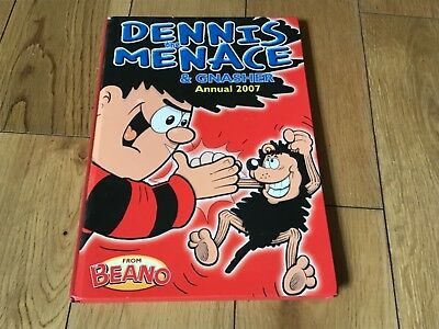 Collectors item Dennis the. menace & gnasher annual 2007 from beano good cond