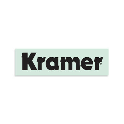 Kramer® 1983-style Waterslide Headstock Decal in Black 5150 1984 918V