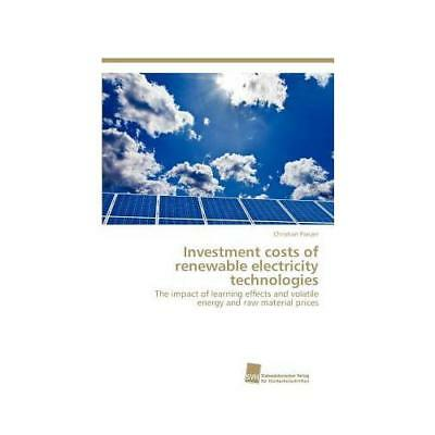 Investment Costs of Renewable Electricity Technologies by Christian Panzer (a...