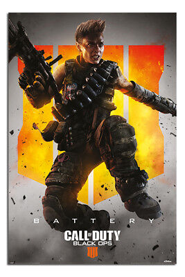 Call Of Duty Black Ops 4 Poster Ruin 235 Official Merchandise