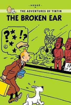 The Broken Ear by Hergé (author)