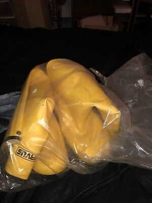 Servus by Honeywell  Pr of Men's Rubber Protective Overboot A380  Size 16 Yellow