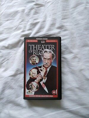 Theater Of Blood Vhs Vincent Price