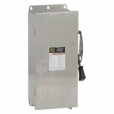 100 Amp 600VAC Single Throw Safety Switch 3P SQUARE D HU363DS