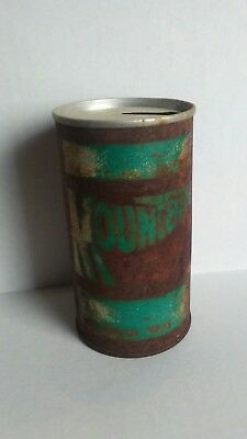Vintage Mountain Dew Pull Tab Soda Can rusty old decor