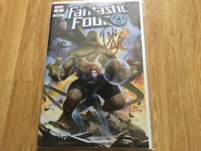 New Sealed & Signed Fantastic Four Issue #1 Comic.