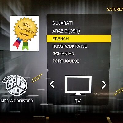 IPTV France French Canadian USA Premium Sports Over 3200 Channels HD