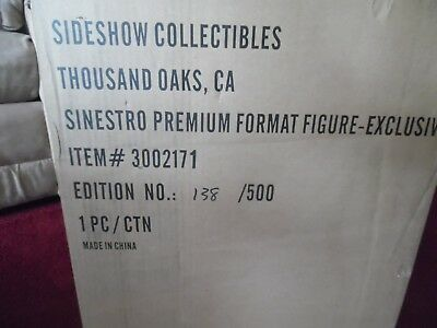 Sideshow Exclusive Sinestro Yellow Premium Format Statue Sealed PF Green LE 500