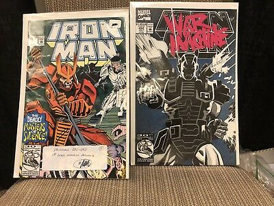 Marvel Comics Iron Man #281 and #282 Cameo and First Appearance of War Machine