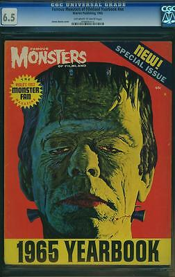 FAMOUS MONSTERS OF FILMLAND YEARBOOK 1965.cgc.  6.5