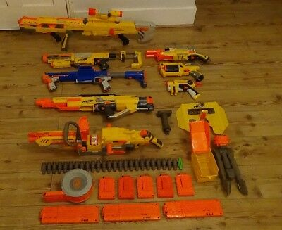 Huge Nerf N strike Gun Bundle