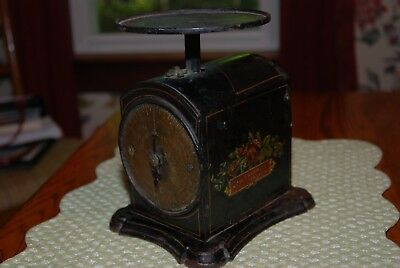 Antique John Chatillon & Sons Brass Face Scale 1892--Marked