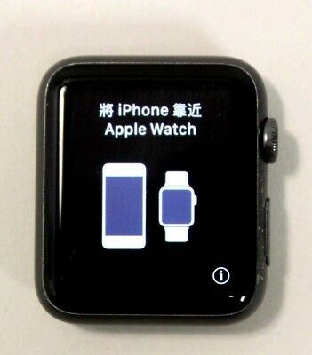 Apple Watch 42Mm 7000 Series - Grey Aluminum - Face Only *read*