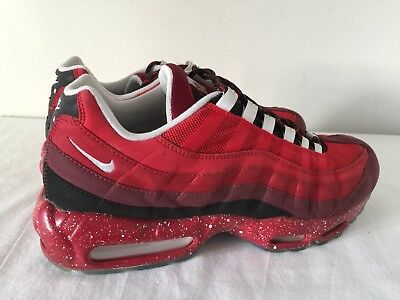fe82ed3f28 #NIKEID Nike Air Max 95 Classic Trainers Blood Red Size 10 UK 11 UK Worn