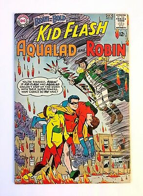 BRAVE AND THE BOLD #54 BEAUTIFUL UNRESTORED 1st App of the Teen Titans 1964
